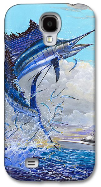 Wahoo Galaxy S4 Cases - Free Jumper Off00152 Galaxy S4 Case by Carey Chen