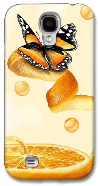 Juice Galaxy S4 Cases - Free play Galaxy S4 Case by Veronica Minozzi