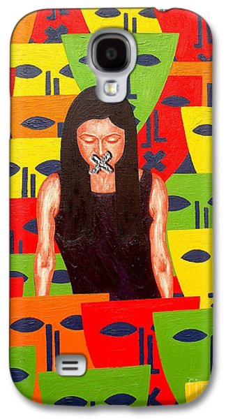 Free Speech Galaxy S4 Cases - Free Speech Galaxy S4 Case by Patrick J Murphy