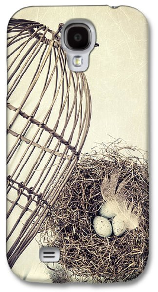 Cage Galaxy S4 Cases - Free to Fly Galaxy S4 Case by Amy Weiss