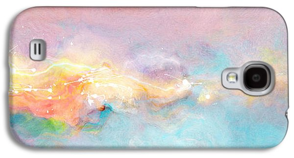 Freedom - Abstract Art Galaxy S4 Case by Jaison Cianelli