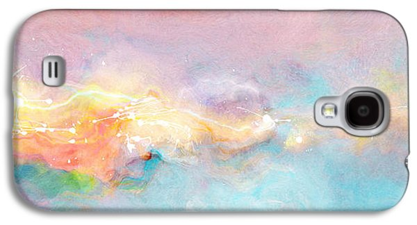 Recently Sold -  - Abstract Digital Paintings Galaxy S4 Cases - Freedom - Abstract Art Galaxy S4 Case by Jaison Cianelli