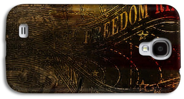 Best Sellers -  - American Independance Galaxy S4 Cases - Freedom Bell Galaxy S4 Case by Christodoulos Mavrides
