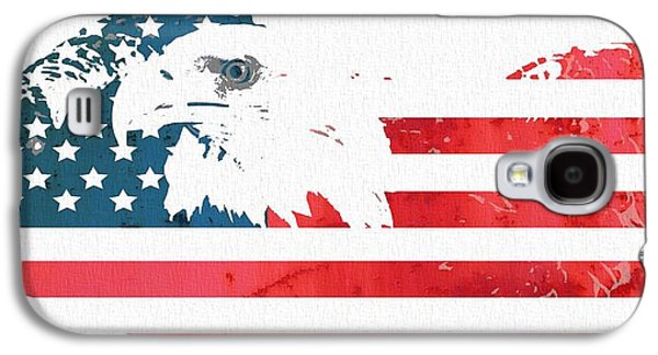 Fourth Of July Mixed Media Galaxy S4 Cases - Freedom Galaxy S4 Case by Dan Sproul