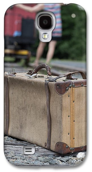 Caboose Photographs Galaxy S4 Cases - Freedom Galaxy S4 Case by Edward Fielding