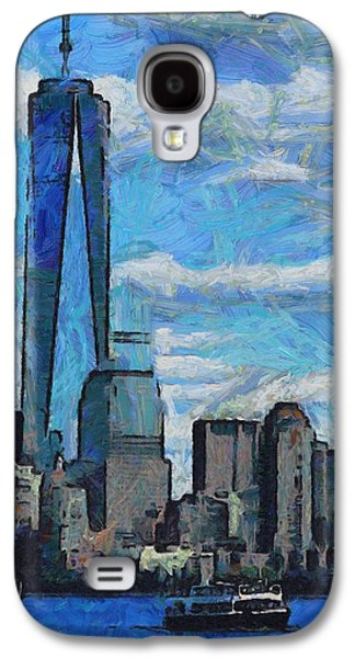 Skylines Mixed Media Galaxy S4 Cases - Freedom Isnt Free Galaxy S4 Case by Dan Sproul