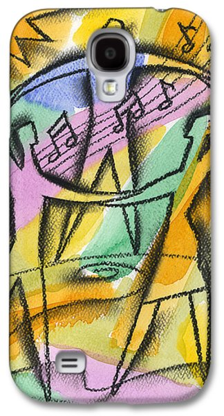 Liberty Paintings Galaxy S4 Cases - Freedom Galaxy S4 Case by Leon Zernitsky