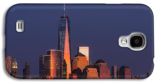 Freedom Tower Glow II Galaxy S4 Case by Susan Candelario