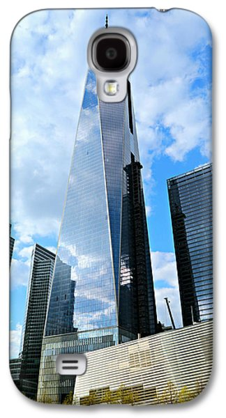 Wtc 11 Galaxy S4 Cases - Freedom Tower Galaxy S4 Case by Stephen Stookey