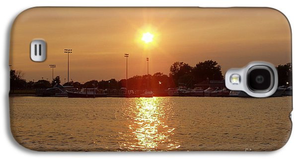 Sun Galaxy S4 Cases - Freeport Summer Sunset Galaxy S4 Case by John Telfer