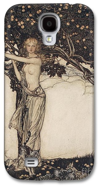 Freia The Fair One Illustration From The Rhinegold And The Valkyrie Galaxy S4 Case by Arthur Rackham