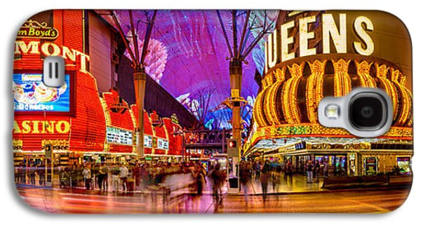 Long Street Galaxy S4 Cases - Fremont Street Experience Galaxy S4 Case by Az Jackson