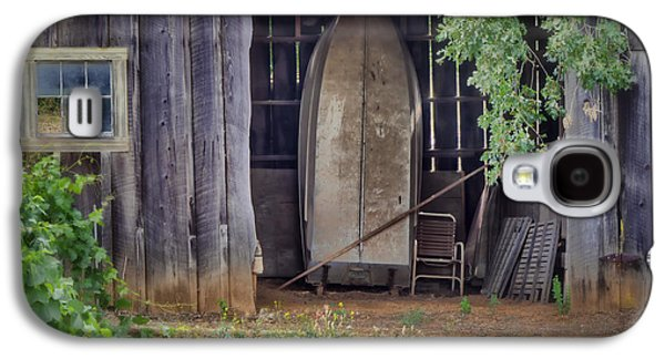 Shed Galaxy S4 Cases - Countryside Barn Galaxy S4 Case by Joan Carroll
