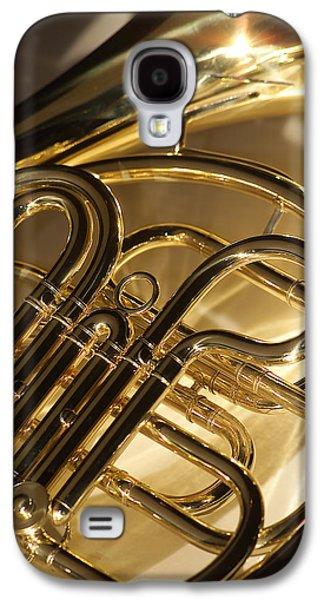 Musical Photographs Galaxy S4 Cases - French Horn I Galaxy S4 Case by Jon Neidert