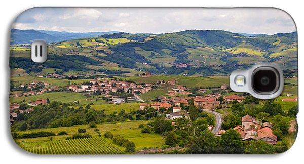 Oingt Photographs Galaxy S4 Cases - French Landscape 2 Galaxy S4 Case by Allen Sheffield