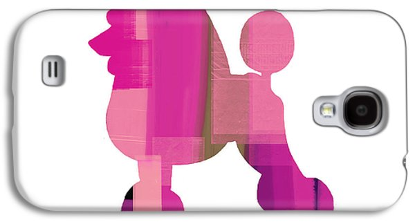 Puppies Galaxy S4 Cases - French Poodle Galaxy S4 Case by Naxart Studio