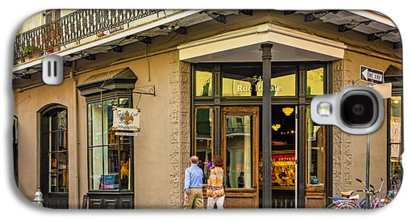 Architecture Metal Prints Galaxy S4 Cases - French Quarter Art Galaxy S4 Case by Steve Harrington