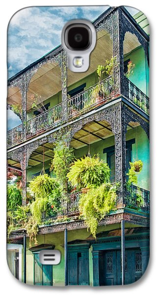 Brenda Bryant Photography Galaxy S4 Cases - French Quarter Ferns Galaxy S4 Case by Brenda Bryant