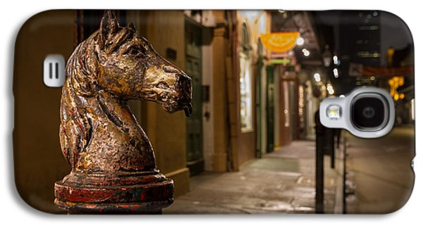 French Quarter Hitching Post Galaxy S4 Case by Tim Stanley