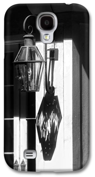 Gas Lamp Photographs Galaxy S4 Cases - French Quarter Lamp Shadow Galaxy S4 Case by Greg and Chrystal Mimbs