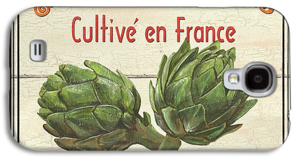 Creative Paintings Galaxy S4 Cases - French Vegetable Sign 2 Galaxy S4 Case by Debbie DeWitt