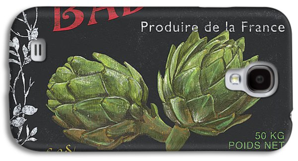 French Veggie Labels 1 Galaxy S4 Case by Debbie DeWitt