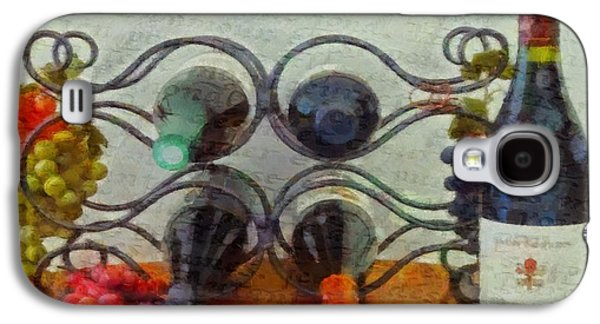 Interior Still Life Mixed Media Galaxy S4 Cases - French Wine Rack Galaxy S4 Case by Dan Sproul