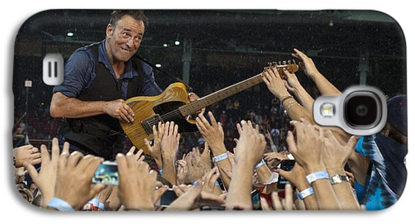 Bruce Springsteen Photographs Galaxy S4 Cases - Frenzy at Fenway Galaxy S4 Case by Jeff Ross