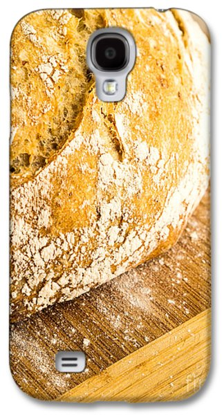 Artisan Galaxy S4 Cases - Fresh Baked Loaf of Artisan Bread Galaxy S4 Case by Edward Fielding