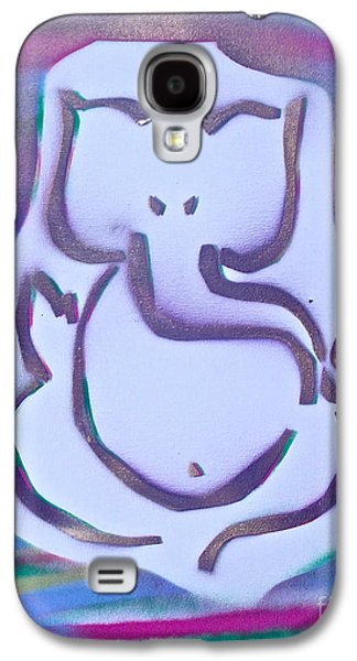 Moral Paintings Galaxy S4 Cases - Fresh Ganesh 1 Galaxy S4 Case by Tony B Conscious