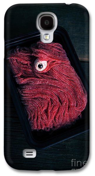 Creepy Galaxy S4 Cases - Fresh Ground Zombie Meat - Its whats for dinner Galaxy S4 Case by Edward Fielding