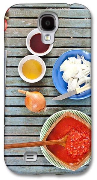 Vinegar Galaxy S4 Cases - Fresh ingredients Galaxy S4 Case by Tom Gowanlock