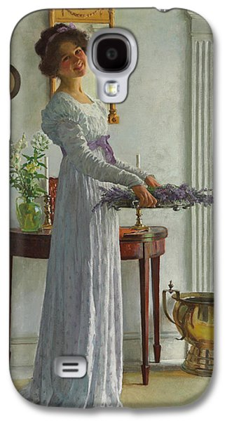 Youthful Galaxy S4 Cases - Fresh Lavender Galaxy S4 Case by William Henry Margetson