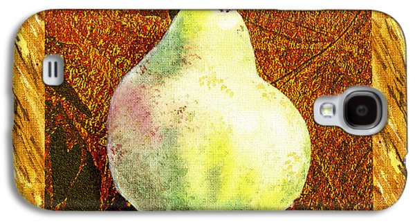 Pears Galaxy S4 Cases - Fresh N Happy Pear Decorative Collage Galaxy S4 Case by Irina Sztukowski
