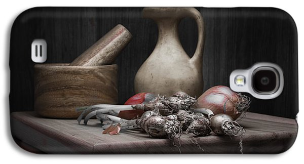 Fresh Onions With Pitcher Galaxy S4 Case by Tom Mc Nemar