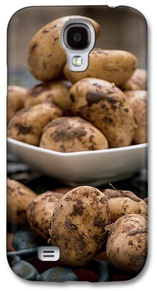 Fresh Potatoes Galaxy S4 Case by Aberration Films Ltd