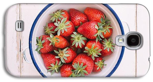 Fresh Strawberries  Galaxy S4 Case by Viktor Pravdica