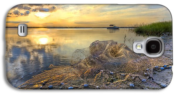 Boats At The Dock Galaxy S4 Cases - Fresh Water Galaxy S4 Case by Debra and Dave Vanderlaan
