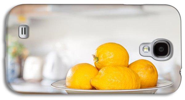 Freshly Picked Lemons Galaxy S4 Case by Amanda Elwell