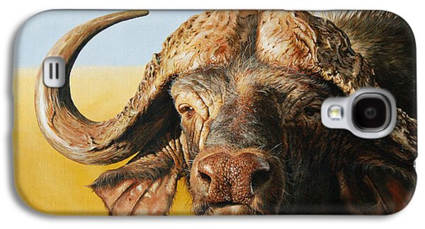 African Buffalo Galaxy S4 Case by Mario Pichler