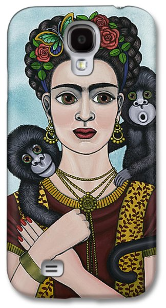 Diego Rivera Galaxy S4 Cases - Frida In The Sky Galaxy S4 Case by Victoria De Almeida