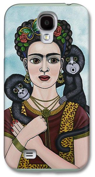Diego Rivera Galaxy S4 Cases - Frida In The Sky Galaxy S4 Case by Victoria De Almeida