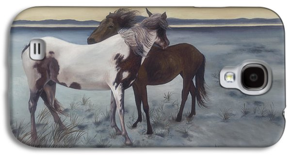 Windblown Paintings Galaxy S4 Cases - Friends Galaxy S4 Case by Glenda Stevens