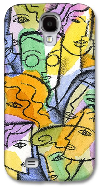 Cooperation Galaxy S4 Cases - Friendship Galaxy S4 Case by Leon Zernitsky