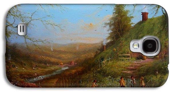Frodo's Inheritance Bag End Galaxy S4 Case by Joe  Gilronan
