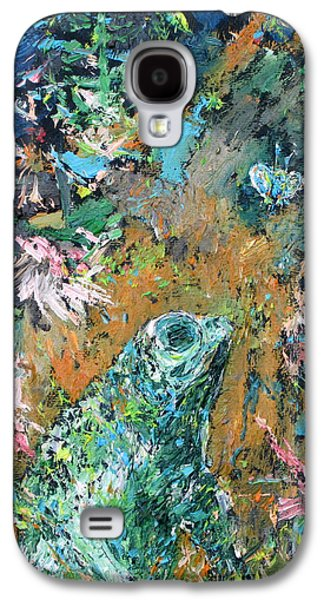 Flying Frog Galaxy S4 Cases - FROG and FLY Galaxy S4 Case by Fabrizio Cassetta