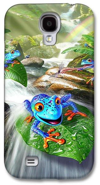 Frog Capades Galaxy S4 Case by Jerry LoFaro
