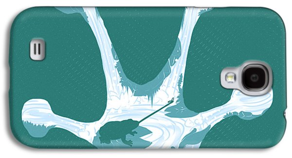 Frog Foot Galaxy S4 Case by Daniel Hapi