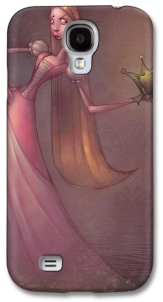 Frog Prince Galaxy S4 Case by Adam Ford