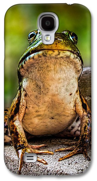 Closeup Photographs Galaxy S4 Cases - Frog Prince or so he thinks Galaxy S4 Case by Bob Orsillo